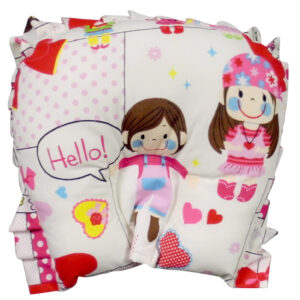 Babys World Soft Fabric U Shape Pillow - Multi Prints-0