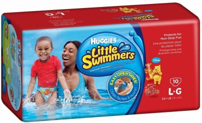 Huggies Little Swimmers, Disposable Swimming Diapers (10pcs) - Large-0
