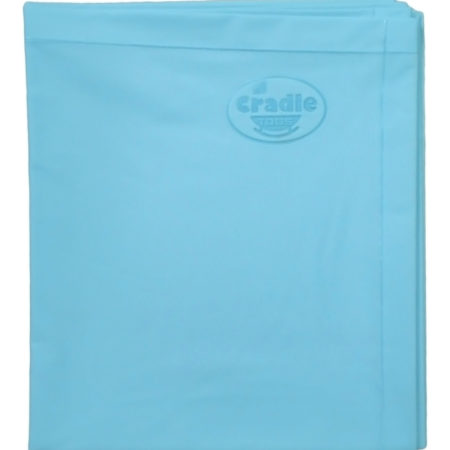 Cradle Double Bed Baby Plastic Sheets XXL - Blue-0