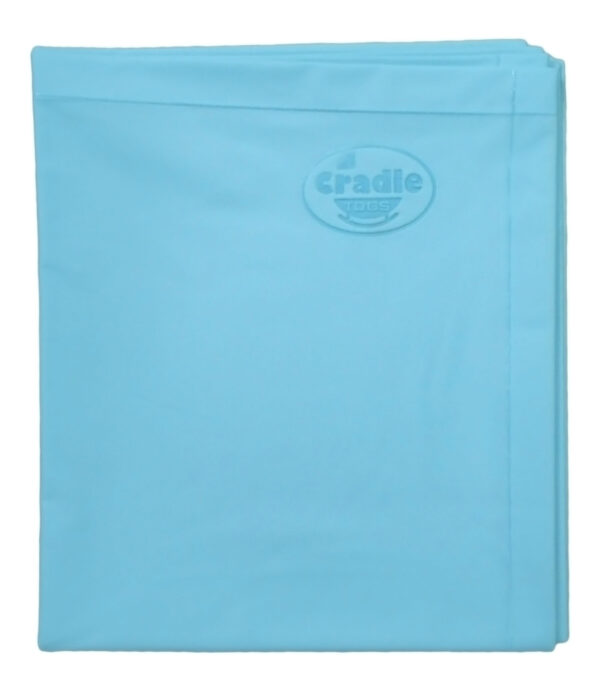 Cradle Single Bed Baby Plastic Sheets XL - Blue-0