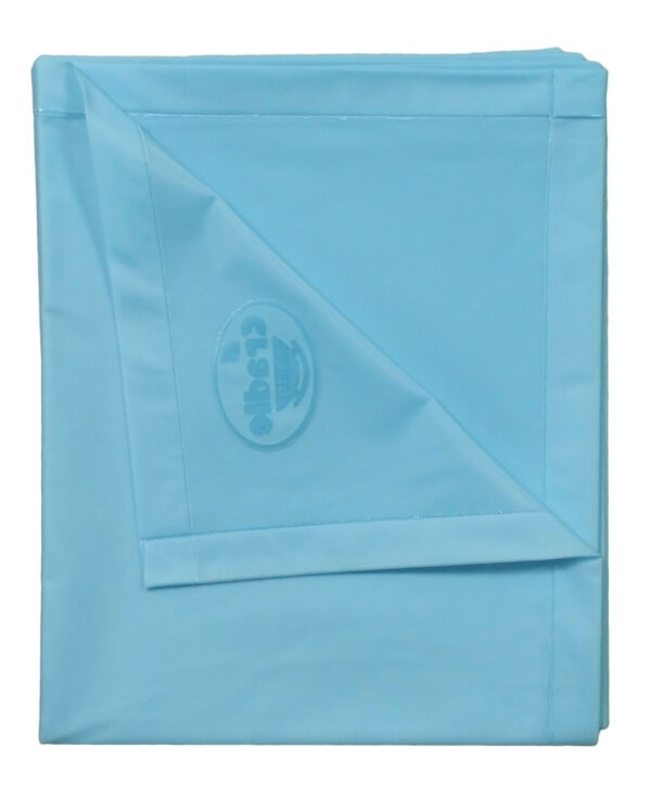 Cradle Single Bed Baby Plastic Sheets XL - Blue-2787