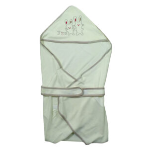 Babys World Imported Baby Hooded Towel - Cream-0
