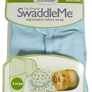 Summer Hosiery Cotton SwaddleMe - Small-0