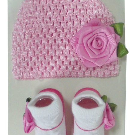 Crochet cap set -0