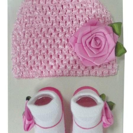 Crochet cap set -0