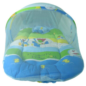Babys World Bedding Set With Mosquito Net-0