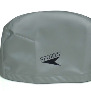 Sports Silicone Swimming Cap - Grey-0