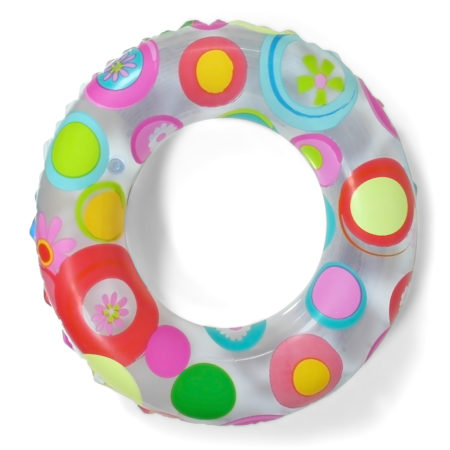 Intex Lively Print Swimming Pool Ring - 20 Inch-0