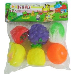 Kaili Chuu Chuu Toys - 6 Fruits-0
