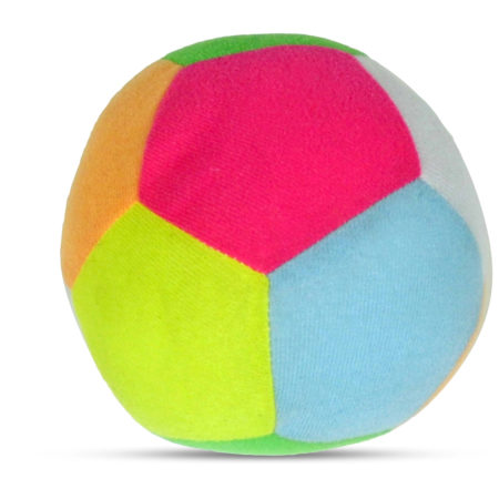 Multi Coloured Play Ball Rattle-0