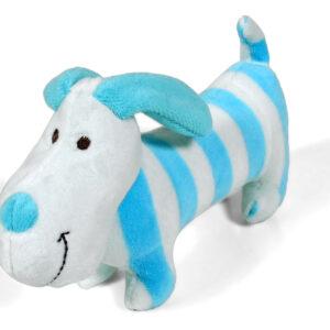 Shakable Choo Choo Donkey Toys - Blue & White-0