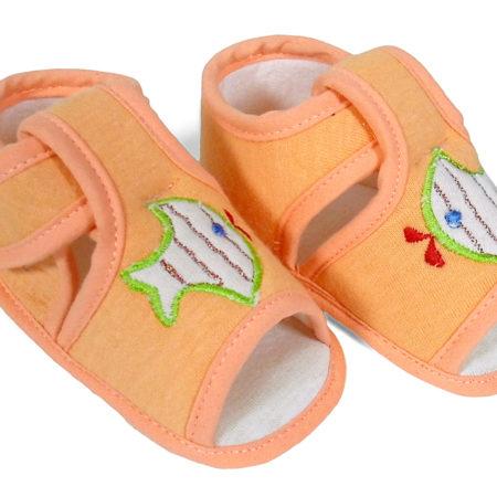 Babys World Soft Sandal - Orange-0