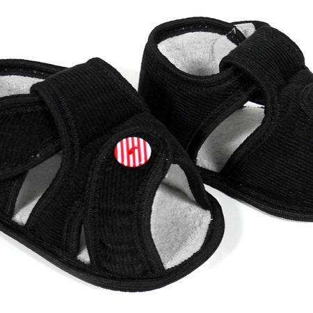Babys World Soft Sandal - Black-0
