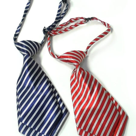 Babys World line Print Tie Pack Of 2 - Red & Blue-0