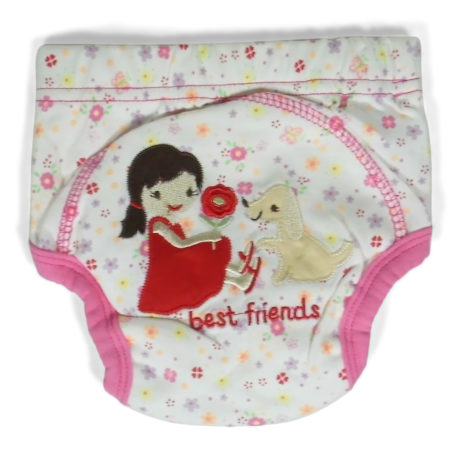 Moms Care Diaper Panty - Pink-0