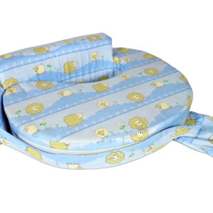 Babys World Baby Feeding Pillow - Blue-0