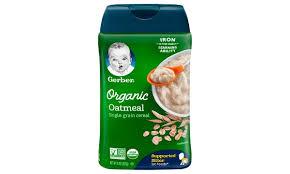 Gerber Organic Oatmeal Cereal - 227 gm-0