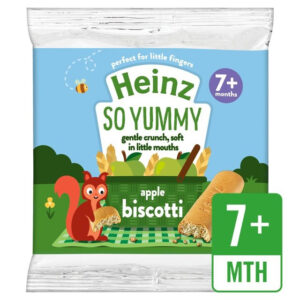 Heinz So Yummy - Apple Biscotti Snack (7M+) - 60gm-0