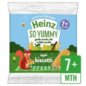 Heinz So Yummy - Apple Biscotti Snack (7M+) - 60gm-0