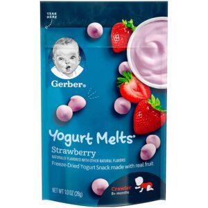 Gerber Graduates Yogurt Melts, Strawberry - 28gm-0