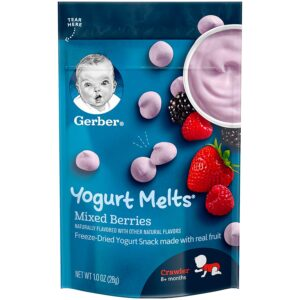 Gerber Graduates Yogurt Melts Mixed Berries - 28gm-0