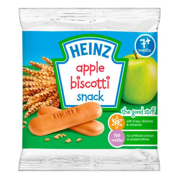 Heinz So Yummy - Apple Biscotti Snack (7M+) - 60gm-4048