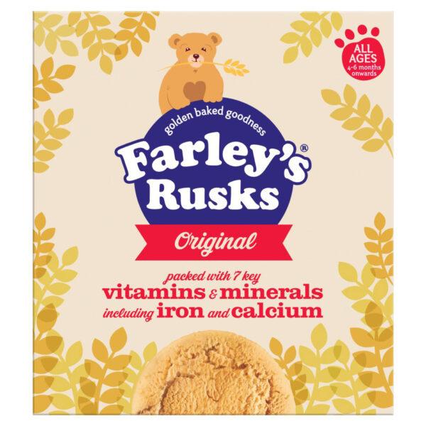 Heinz Farleys All Ages Rusks Original - 300 gm ( best before 1st December 2020)-0