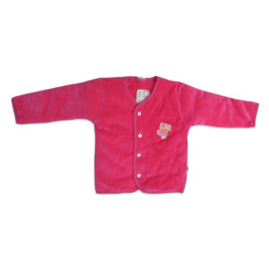 Moms Pet Full Sleeves Quilted Vest - Magenta-0