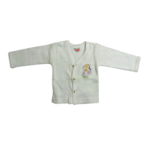 Body Care Warm Thermal Front Open - White-0