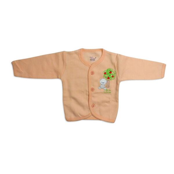 Little Darling Full Sleeves Front Open Vest-0