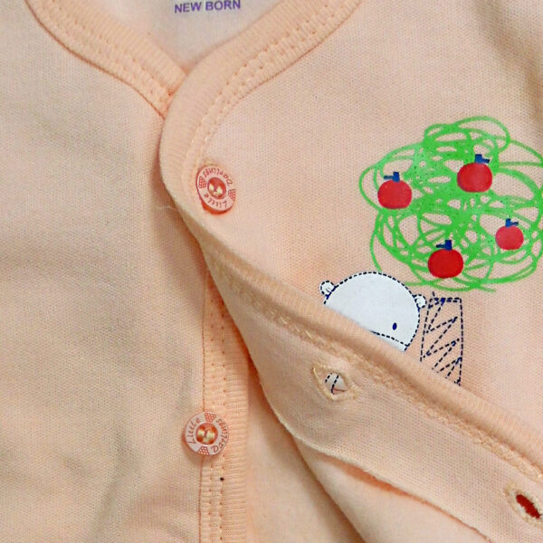 Little Darling Full Sleeves Front Open Vest-4104