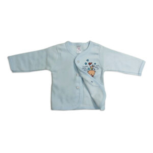 Pink Rabbit Full Slives Fleece Vest - Blue-0