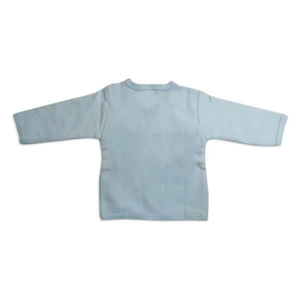 Pink Rabbit Full Slives Fleece Vest - Blue-4109