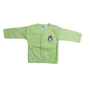 Little Darling Full Sleeeves Vest - Green-0