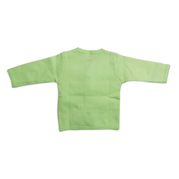 Little Darling Full Sleeeves Vest - Green-4113