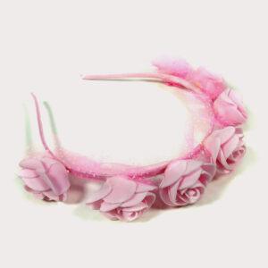 Babys World Flowerer Hair Band - Pink-0
