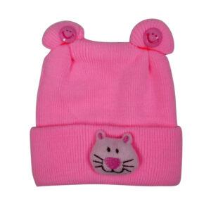 Babys U Shape Winter Head Cap-0