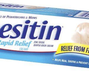 Desitin Rapid Relief Cream Zinc Oxide Diaper Rash Cream - 113 gm-0