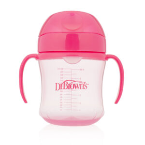 Dr. Brown sipper 6 months + (pink)-0
