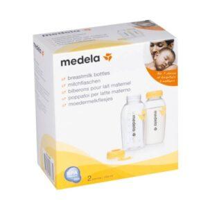 Medela Breastmilk Storage Bottles, 2 Count - 250 ml-0