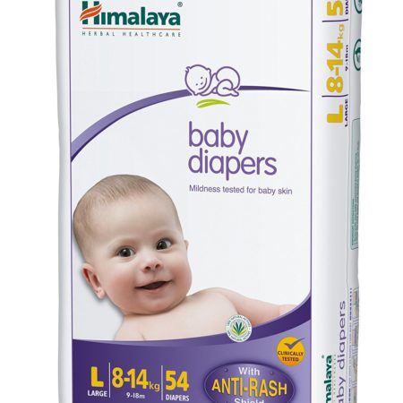 Himalaya Baby Large Size Diapers, 54 Count-0