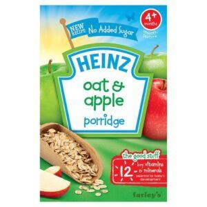 Heinz oat and apple porridge (4months +) 125gm-0