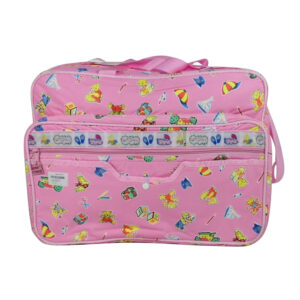Outing Mama Shoulder Diaper Bag - Pink-0