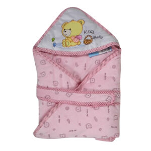 Baby Quilted Wrappers - Pink-0