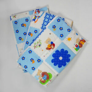 Cotton Changing Sheets - Set Of 3-0