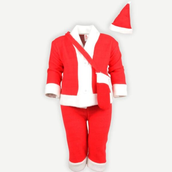 Santa Claus dress for Christmas ( 0 - 8 years)-0
