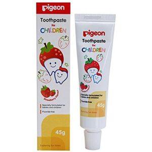 Pigeon Children Toothpaste (Strawberry) 45g-0