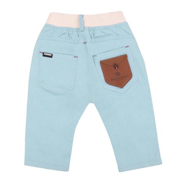 Pant cotton sky blue-5774