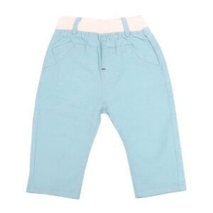 Pant cotton sky blue-0
