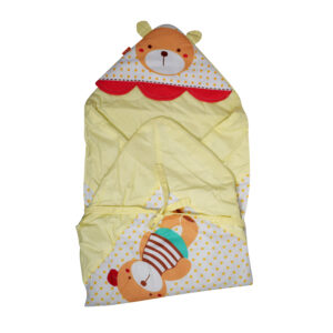 Teddy Patch Hooded Wrapper - Multi Color-0